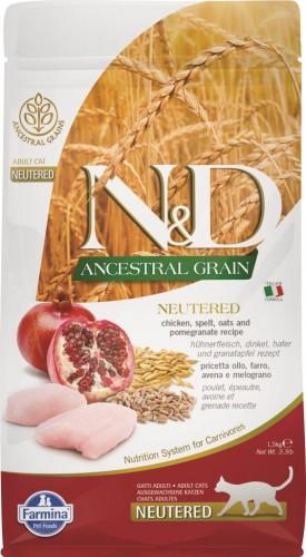 N&D Ancestral Cat Chicken & Pomegranate Neutered